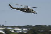 Mi-24 Hind in flight
