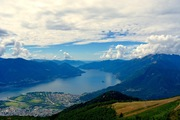 Overlooking Locarno
