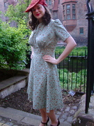1939 dress and hat
