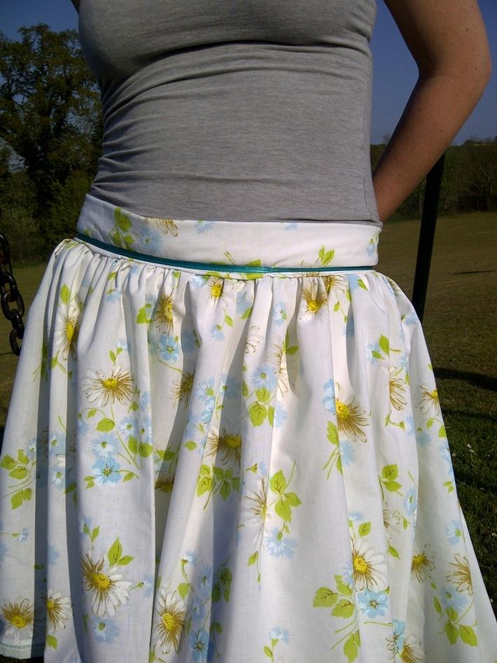 Alice in wonderland skirt/ tranvelling lace