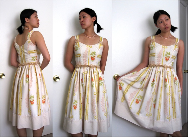 Betsey Johnson-Inspired Floral Explosion Dress