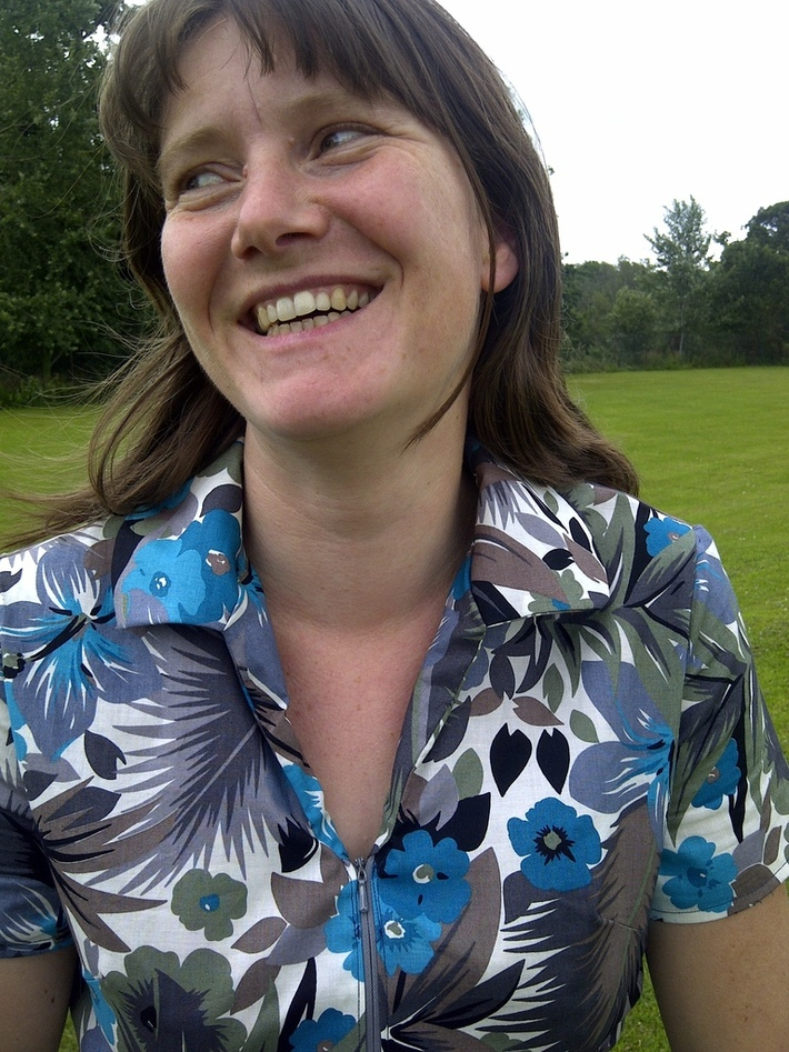 70s shirt dress