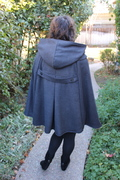 Anything but Elementary Cape Back View