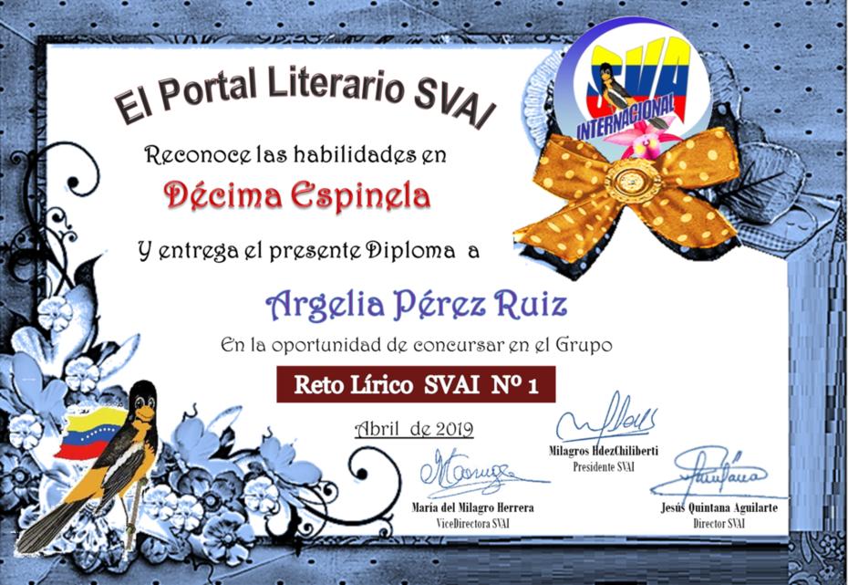 ARGELIA PÉREZ RUIZ