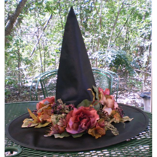 Garden Witch Victorian Witches Hat