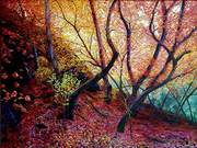 Autumn Landscape II by Margaret Ridley
