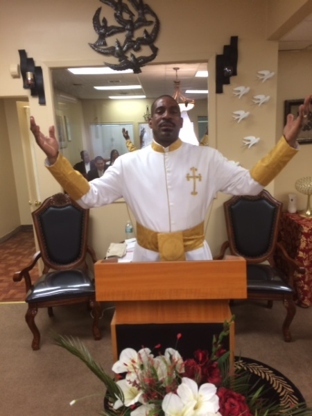 Apostle Ron Worshipping