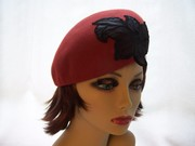 Autumn Red Beret