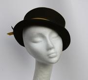 Olive Green Hat Women Millinery