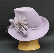 Lavender Endora Hat Women Millinery