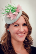 Butterflies fascinator by Anastasia Frei