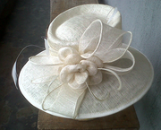 white hat - front