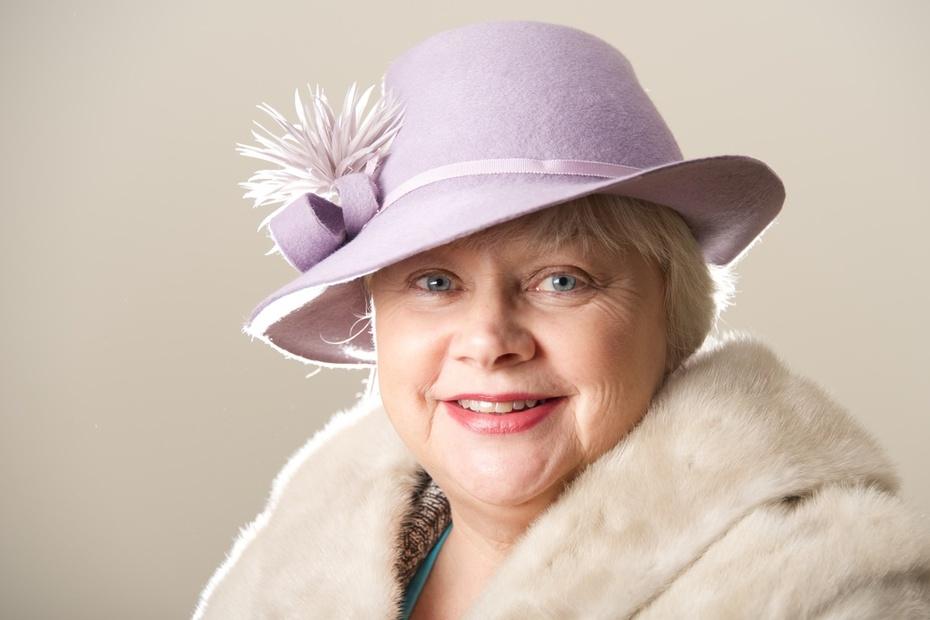 Lilac Lavender ENdorra Hat Millinery