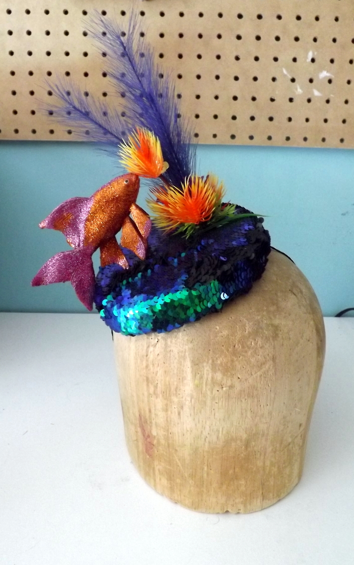 Under the Sea Cocktail Hat