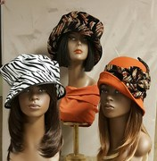 Velvet, Fabric, and Wool Felt Hats