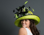 Kentucky Derby Lime Green Hat
