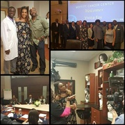 Paul Anthony Cancer Champion Foundation Brings Vivica to Moffitt / Tampa Fl...