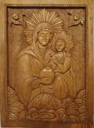 Maica Domnului, sculptură