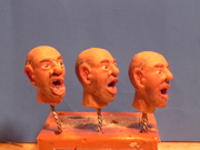 Silicone heads side view