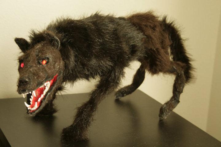 Alaskan Wolf puppet
