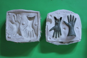 finished hand mold