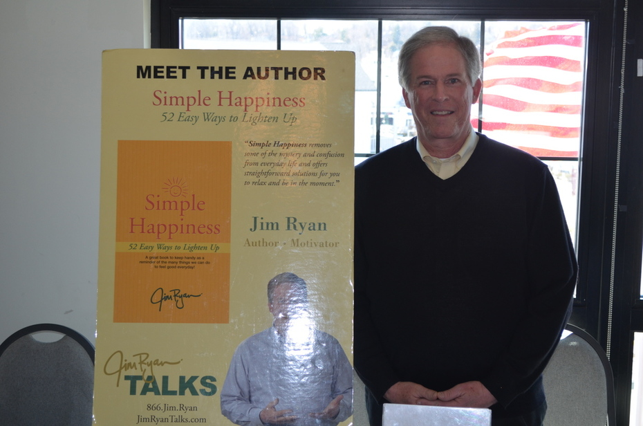 """Jim Ryan author of """"Simple Happiness"""""""