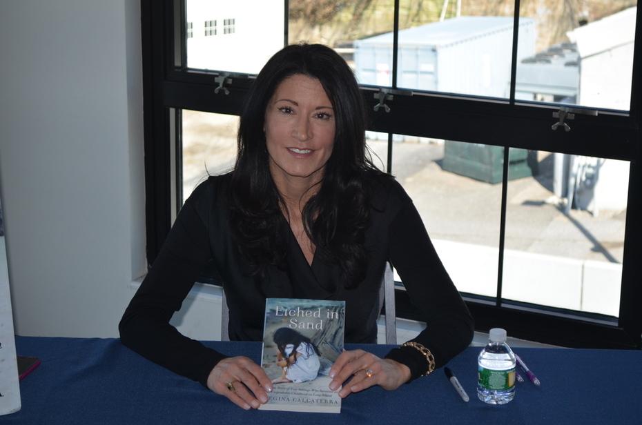 Regina Calcaterra, Author of Etched In Sand