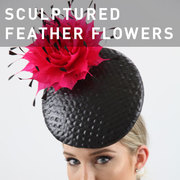 D38 - SCULPTURED FEATHER FLOWERS