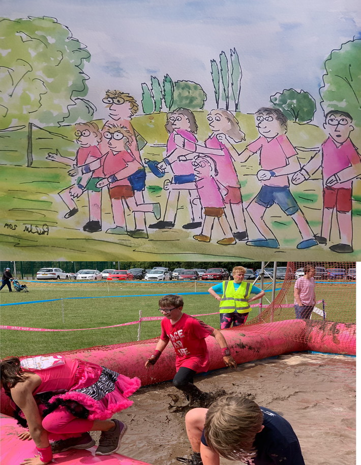 Liam and the race for life