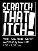 Scratch That Itch! Cardiff!