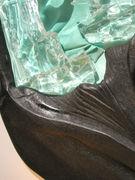 Exposition d'oeuvres en verre fusionné de D. Ambach-Graulle