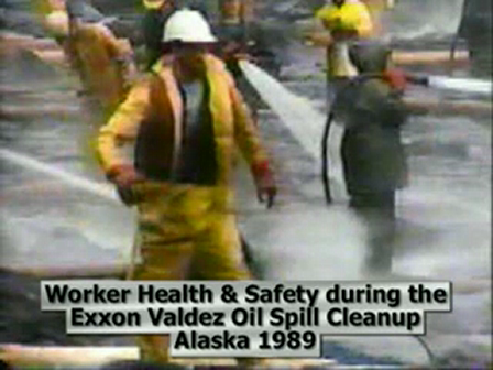 Worker Health and Safety During the Exxon Valdez Oil Spill Cleanup in Alaska in 1989