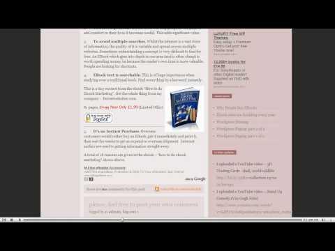 EBooks. Why people buy EBooks