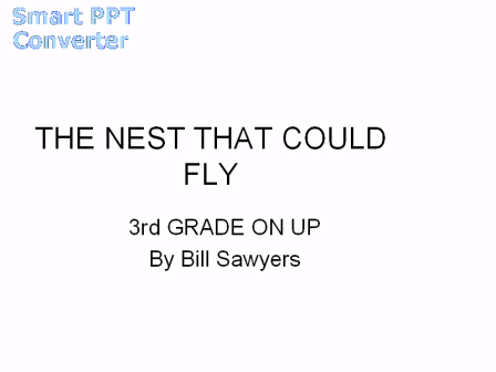 The_Nest_That_Could_Fly