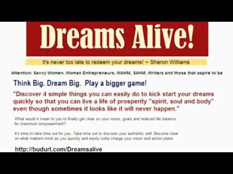 Woman Entrepreneur, WAHM activate your dreams now!