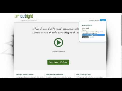 Choosing an accounting system for Start-up Screencast by @KatrinaMHarrell from