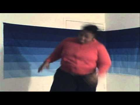 Pound Smashing Dancing Fat Lady-Day 2-1 My Weight-Loss Journey 2011