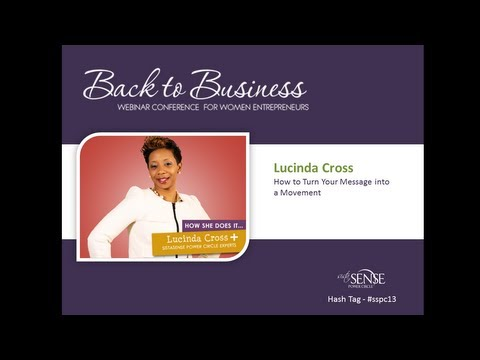Lucinda Cross Shares How to Turn Your Message into a Movement