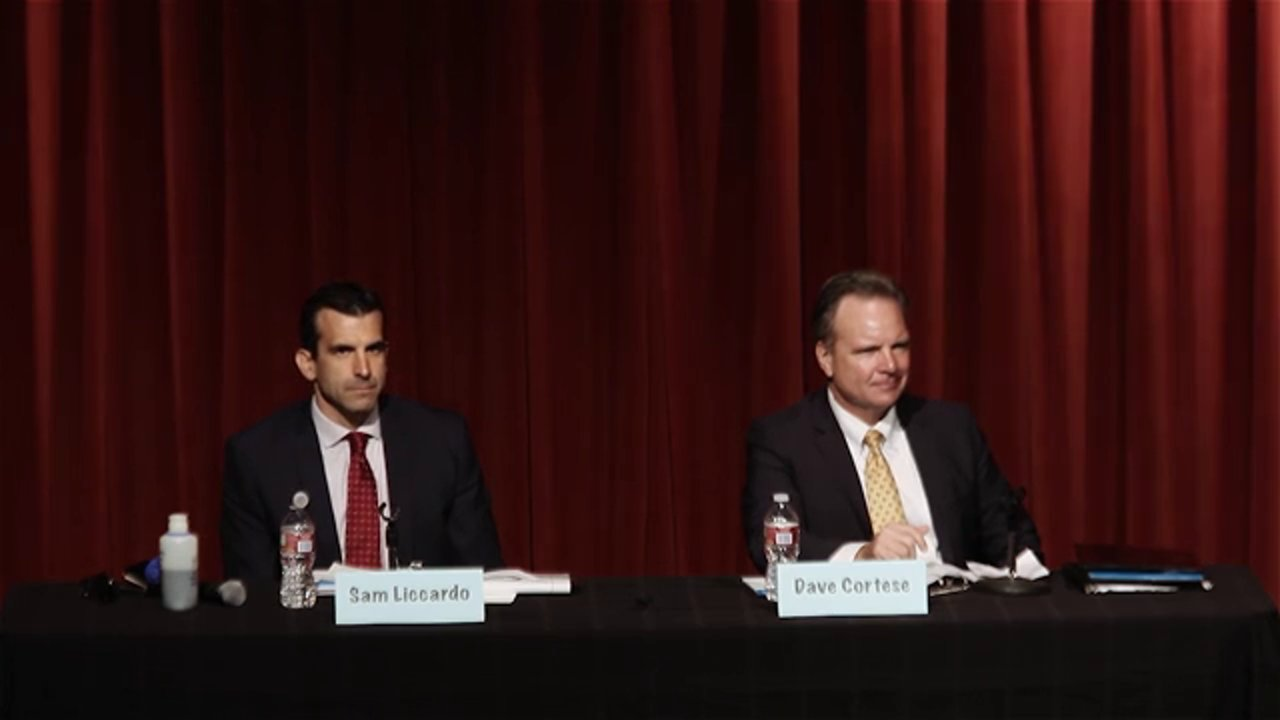 District 1 Mayoral Debate - September 27, 2014
