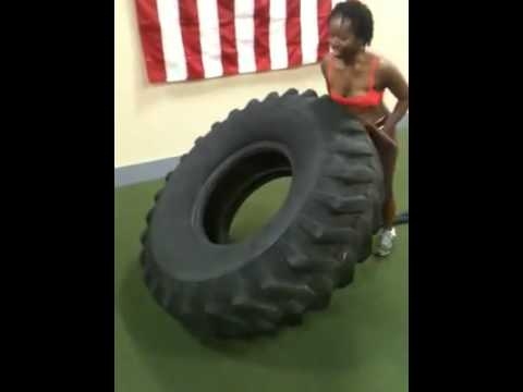Tire Flipping Crossfit