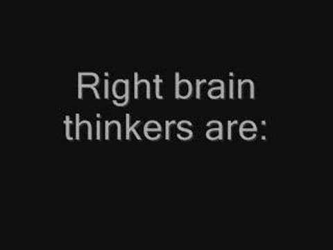 Are You a Right Brain or Left Brain Thinker?