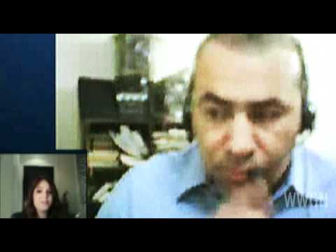 WWGN - Maya interview Sherif from Cairo - Egypt freedom