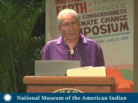 Oren Lyons - A Call to Consciousness on Climate Change