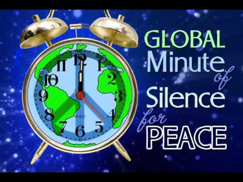 Minute of Silence for Peace