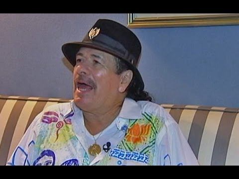 Carlos Santana in South Africa for his first ever-live performance