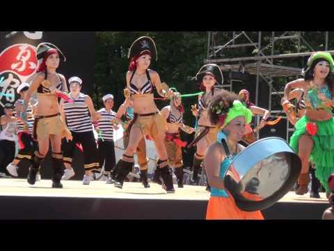 Japan Festival 原宿スーパーよさこい10  かなばる ステージ演舞