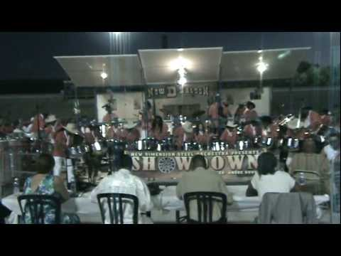 New Dimension Steel Orchestra - 3rd Place - Showdown - Arranger Andre Rouse, Pan Alive 2011.