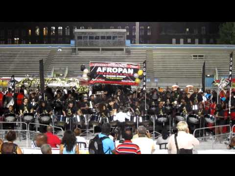 "Afropan Steelband ""Raging Storm"" 2011 Pan Alive winning performance"