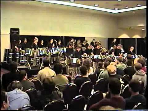 WVU Steelband - Appreciation.  PASIC 2003