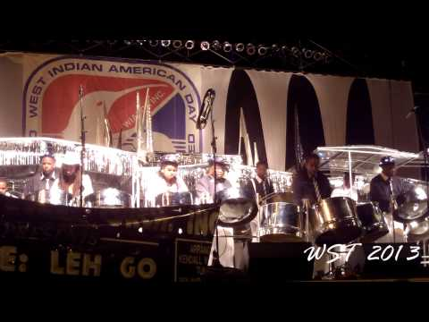 CrossFire Steel Orchestra - New York Panorama 2013 - WST News Clip